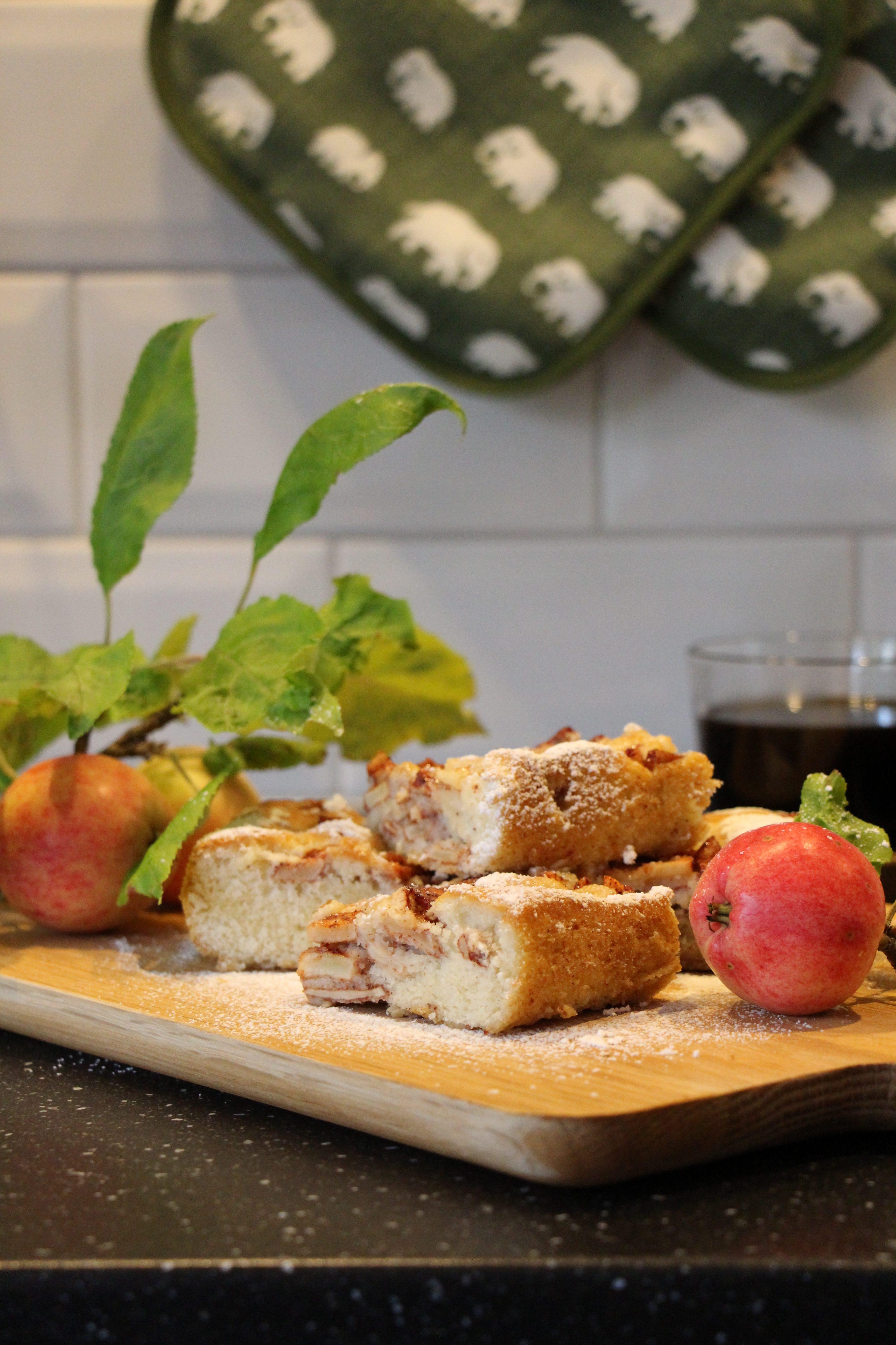 Mormors äppelkaka